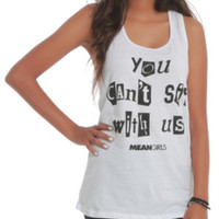 Mean Girls Can't Sit With Us Girls Tank Top