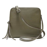 Banana Republic Double Pouch Crossbody Size One Size - New olive