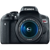 NOB Canon EOS Rebel T6i 24.2 Megapixel Digital SLR Camera with Lens - 18 mm - 55 mm - 3 Touchscreen LCD - 16:9 - 3.1x Optical Zoom - E-TTL II - 6000 x 4000 Image - 1920 x 1080 Video - HDMI - HD Movie Mode - Wireless LAN