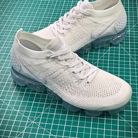 Nike Air Vapormax 2.0 Triple White Sport Running Shoes - Best Online Sale