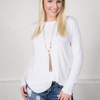 Lovely Cool Knotted Top