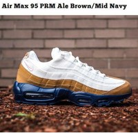 Nike Air Max 95 PRM Ale Brown/Mid Navy