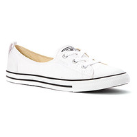 Women's | Converse Chuck Taylor Ballet Lace Sneaker - White - FREE SHIPPING at Shoes.com