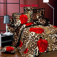 3D Comforter Bedding Sets Duvet / Quilt Bedsheet Cover Queen Sister Love Cotton Bed Linen King Size 4 Pcs (Size: Queen) = 1930351748