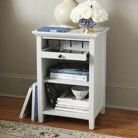 Wesley Nightstand with Charging Station