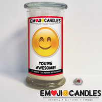 You're Awesome! - Emoji Candles