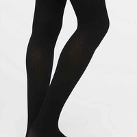 Gipsy Mock Ribbed Over-The-Knee Tight- Black One