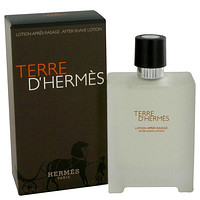 Terre D'Hermes by Hermes After Shave Lotion 3.4 oz for Men