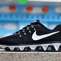 """NIKE"" woven mesh running shoes casual shoes men and women couple shoes"