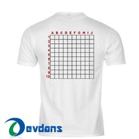 Scratch Grid T Shirt Women And Men Size S To 3XL