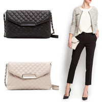 Women's Crossbody Fashion Leather Clutch Shoulder Bag