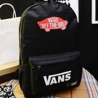 New 2016 men and women college style backpack Vans skateboard youth fashion movement Vance backpack