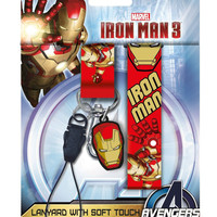 Marvel Iron Man 3 Lanyard with Card Holder