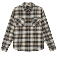 Lawrence Plaid Shirt in Black