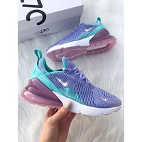 Nike W Air Max 270 Flyknit Atmospheric Sneakers Sport Shoes
