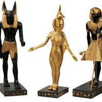 Gods of the Egyptian Realm Statues - WU9600                       - Design Toscano