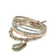 With Love From CA Brass Bangle Set - Womens Jewelry - Gold - One