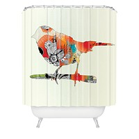 Iveta Abolina Little Bird Shower Curtain