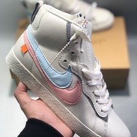 Nike Blazer Mid Men's and women's cheap nike shoes