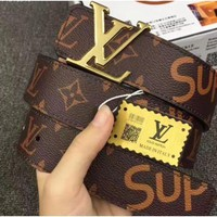 LOUIS VUITTON AAA++ MEN'S BAGS WOMEN'S BELT NO.0065