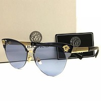 mieniwe? Versace Men Women Casual Popular Summer Sun Shades Eyeglasses Glasses Sunglasses
