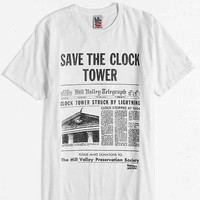 Back To The Future Clock Tower Tee