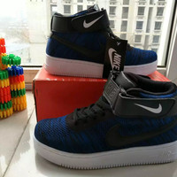 """""""NIKE"""" Fashion Casual Multicolor Flying Weave High Help Shoes Unisex Sneakers Couple Running Shoes"""