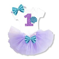 born Baby Girls Clothing 1 Year 1st Birthday Party Gift Multi-Tiered Tutu Dress Mini Dresses For Toddler Girls Infant Outfits