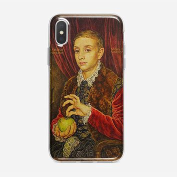 Boy With Apple Grand Budapest Hotel iPhone XS Max Case