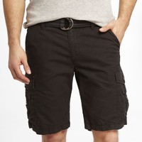 10 INCH BELTED CARGO SHORTS