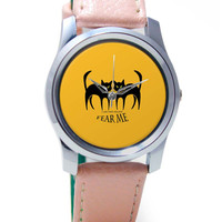 I Am The Night Fear Me Wrist Watch
