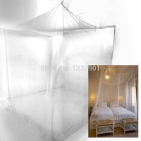 Mosquito Net Bug Insect Repeller Box Shape Travel Camping Home Single Double Bed