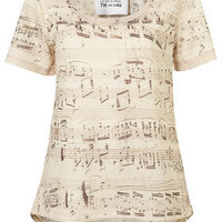 Manuscript Tee By Tee And Cake