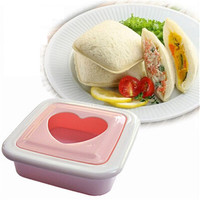 Mold DIY pocket sandwich molds Heart-shaped sandwich bread maker Love toaster Onigiri bento die 9.3*9.3cm 55g H-105