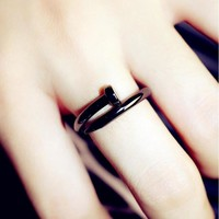 Ring Rings For Women Vintage Men Jewelry Anel Anillos Aneis Bague Masculino Wedding Rose Gold Feminino Mujer Stainless Steel