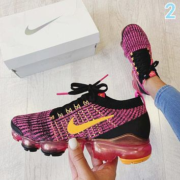 Nike Air VaporMax Flyknit 3.0 Sports Running Shoes Sneakers 2 Purple
