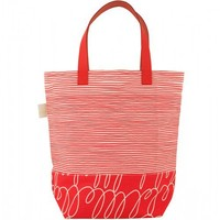 Flight 001 – Where Travel Begins.  See Design Sq Tote Bag Red - New Arrivals - All Products