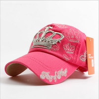 [ On Sale ] Perfect woman imperial crown Embroidered Baseball Cap Hat