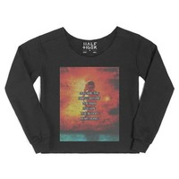 You Are The Smell Before The Rain-Female Black Hoodie