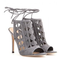 Maxine cut-out suede sandals