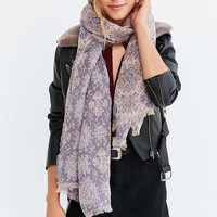 Intarsia Blanket Scarf - Urban Outfitters