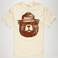 Cali's Finest Smokey Mens T-Shirt Natural  In Sizes