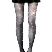 Dark Nebula Galaxy Tights