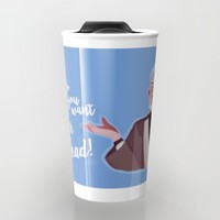I'm super dead! Travel Mug by Mariana Avila | Society6