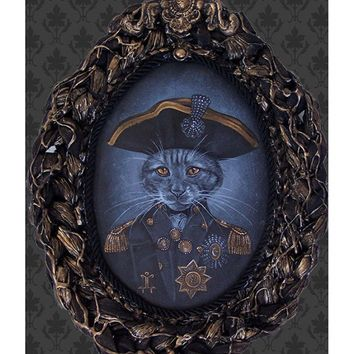 Lowbrow Art Company Admiral Coozington Art Print