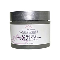 Organic Dead Sea Mud Mask With Aztec Clay - Exfoliate & Rejuvenate