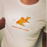 Thinking About Nothing Tee