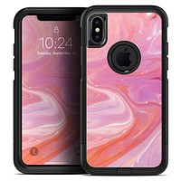 Marbleized Pink Paradise V2 - Skin Kit for the iPhone OtterBox Cases