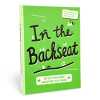 In the Backseat: An On-the-Road Vacation Fun Book by Knock Knock