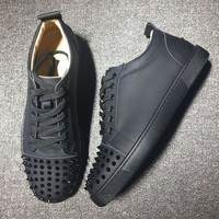 DCCK Cl Christian Louboutin Low Style #2016 Sneakers Fashion Shoes